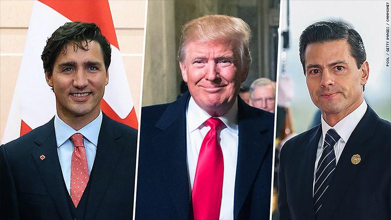 Nemesi degli Stati Uniti NAFTA: Canada, non Messico