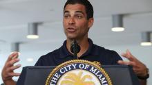 Il sindaco di Miami, Francis Suárez, ha difeso un piano per affrontare l'impatto della crisi climatica.