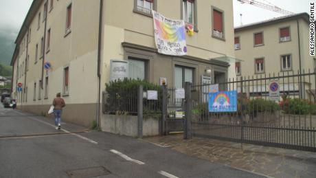 La principale casa di cura di Nembro, dove in poche settimane molti dei suoi abitanti hanno ceduto al virus.