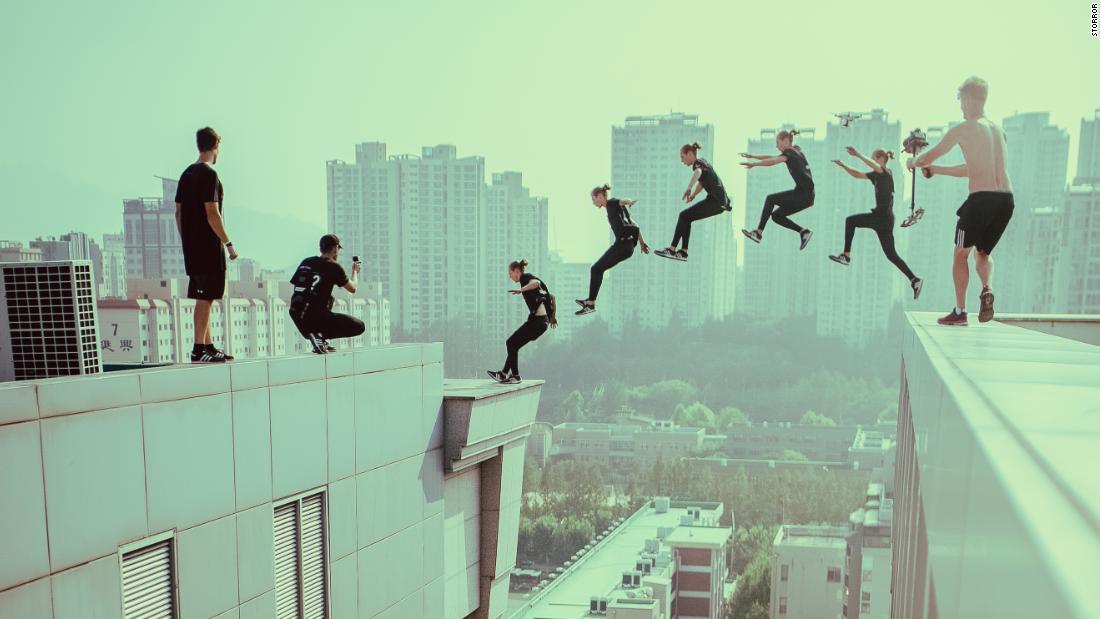 Hollywood: l'estrema squadra di parkour i cui salti sfidanti hanno attirato l'attenzione dell'industria cinematografica