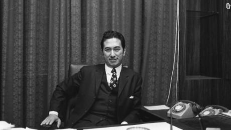 Stanley Ho aveva accumulato una fortuna alla fine della seconda guerra mondiale. Questa immagine è del 1971.