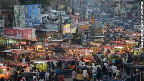 L'antica città di Hyderabad, la capitale e la più grande città dello stato dell'India meridionale nell'Andhra Pradesh.