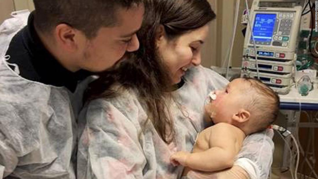 Il bambino brasiliano di cinque mesi sopravvive al coronavirus dopo 32 giorni in coma