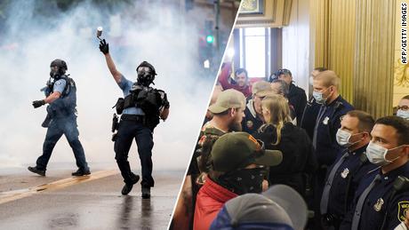 Le immagini di protesta raccontano solo la storia della gerarchia razziale americana