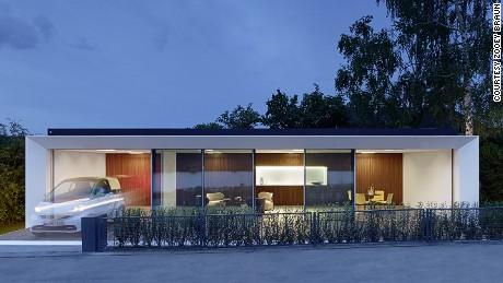 Gli architetti tedeschi Aktivhaus affermano che questa casa genera il doppio dell'energia che consuma.