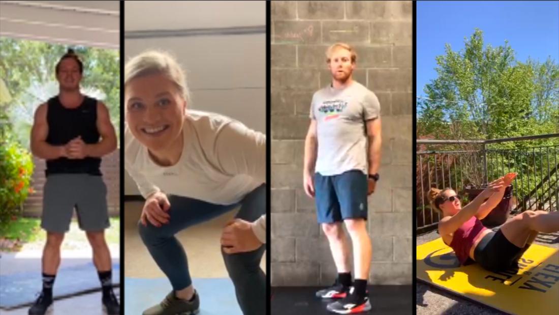 Gli atleti di CrossFit Games ti mostrano come allenarti come gli atleti più in forma sulla Terra