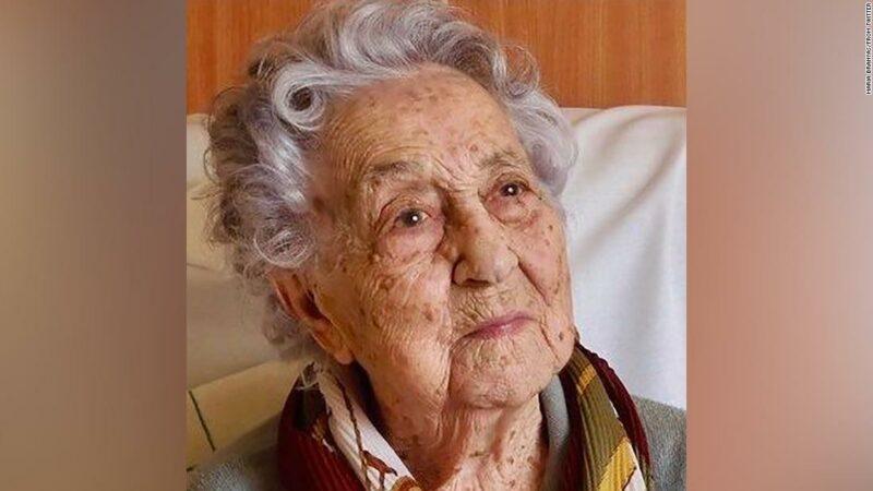 La donna più anziana in Spagna sopravvive al coronavirus a 113 anni