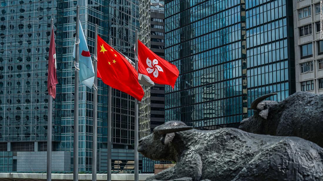 Le azioni di Hong Kong aumentano quando gli investitori ignorano le tensioni tra Stati Uniti e Cina