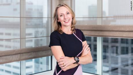 Hanneke Faber, presidente del cibo e delle bevande gassate di Unilever.