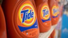 Procter & amp; Gamble ha notato un aumento del numero di carichi settimanali di biancheria negli Stati Uniti.