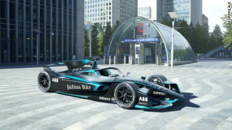 La Formula E rivela il nuovo design delle auto con pinne di squalo