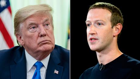 Trump e Zuckerberg hanno parlato al telefono venerdì