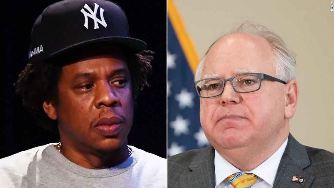 Jay-Z parla dopo aver chiamato il governatore del Minnesota per discutere di giustizia per George Floyd