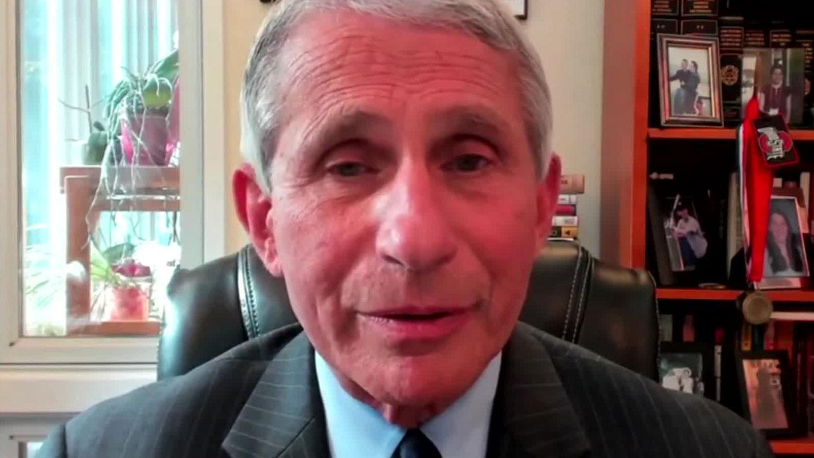Dr. Anthony Fauci, direttore del National Institute of Allergy and Malattie infettive degli Stati Uniti. Stati Uniti d'America
