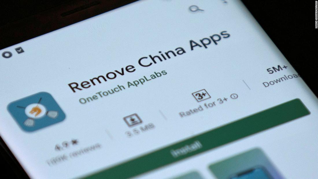 Rimuovi app dalla Cina: Google rimuove l'app per smartphone in India