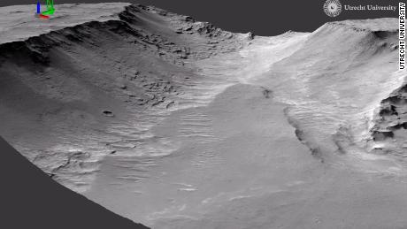 Prove di antichi fiumi visti su Marte: studio