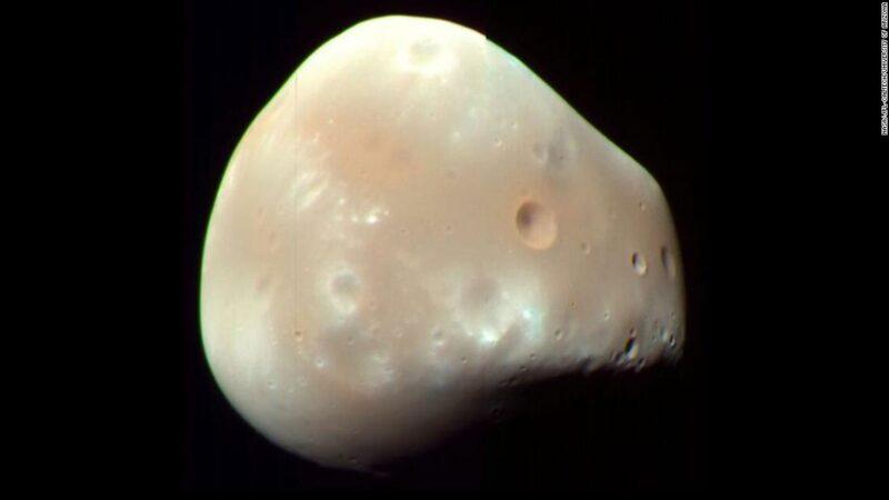 Le lune di Marte possono suggerire che una volta il pianeta aveva degli anelli