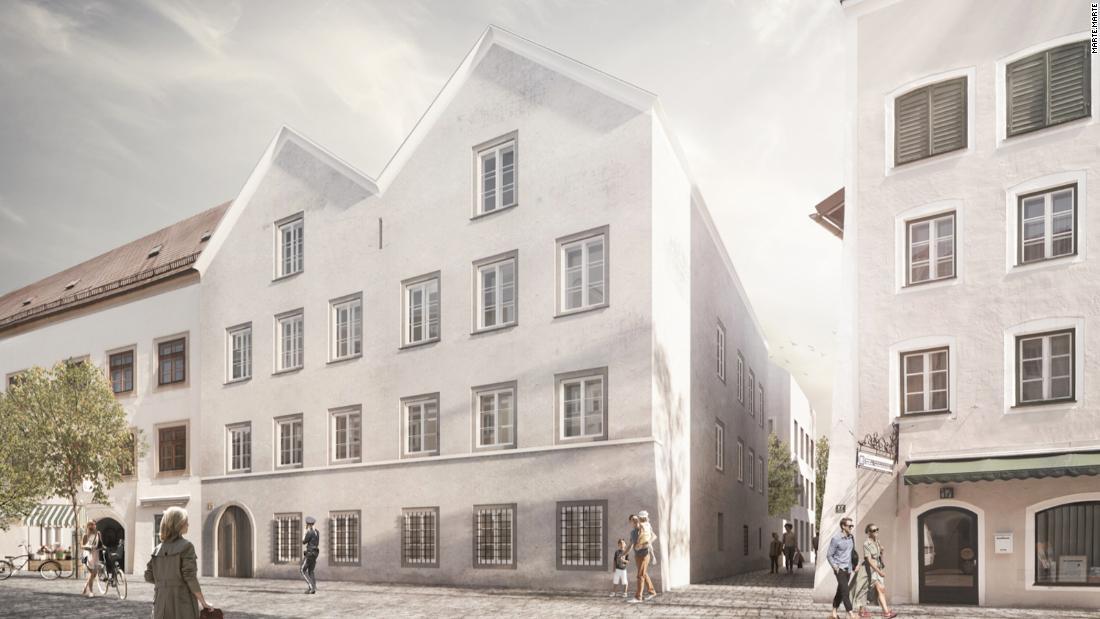 Architetti austriaci per trasformare il luogo di nascita di Hitler in una stazione di polizia