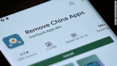 Google rimuove l'app che afferma di rilevare app cinesi su telefoni indiani