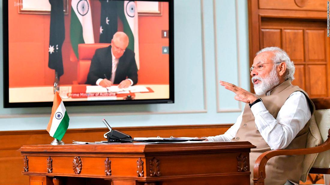 L'India e l'Australia rafforzano i legami militari mentre le tensioni diminuiscono nel Mar Cinese Meridionale