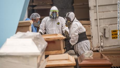 L'America Latina è ora & # 39; epicentro dell'epidemia, & # 39; dice un ufficiale sanitario