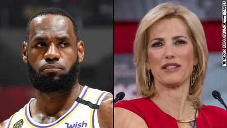 LeBron James chiama l'ancora della Fox News Laura Ingraham per difendere Drew Brees