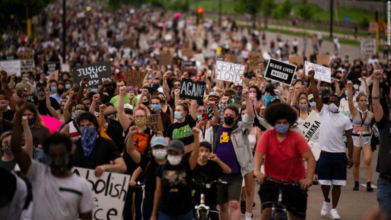 George Floyd protesta negli Stati Uniti Stati Uniti d'America