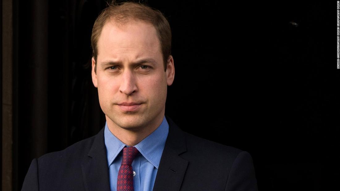 Il principe William si è offerto segretamente volontario per una hotline per crisi mentali