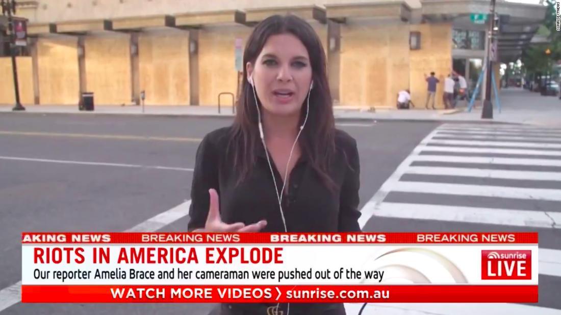 L'Australia indagherà sull'attacco della polizia ai giornalisti a Washington