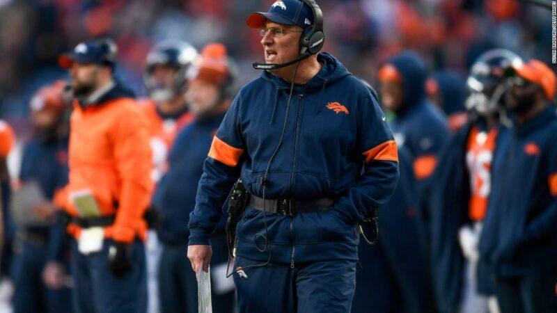 """L'allenatore di Denver Broncos: """"Non vedo affatto il razzismo nella NFL"""""""