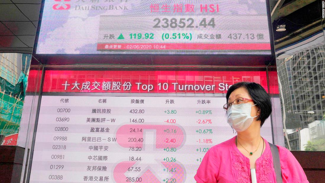 Le società cinesi che stanno affrontando una battuta d'arresto negli Stati Uniti stanno coprendo le loro scommesse a Hong Kong