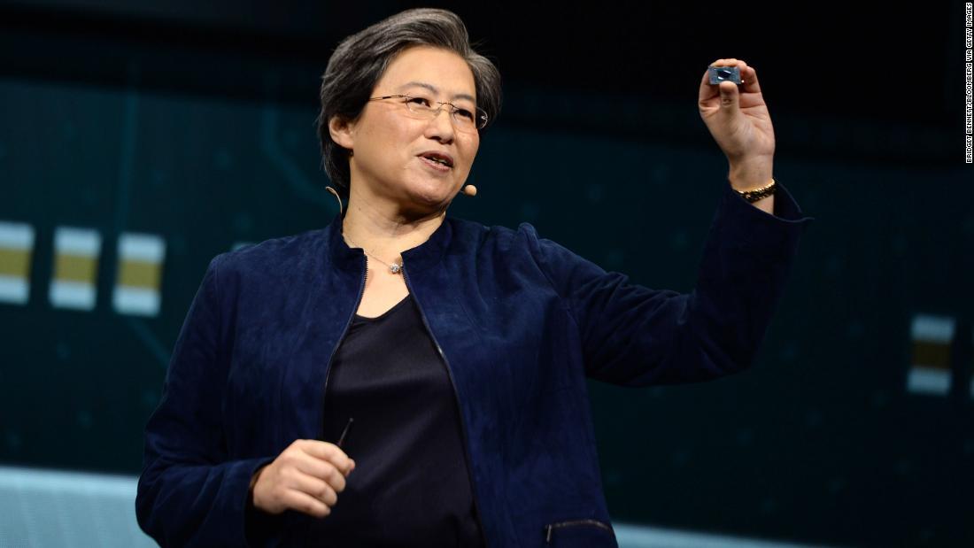 Lisa Su di AMD è stata l'amministratore delegato più pagato nell'S & P 500 l'anno scorso