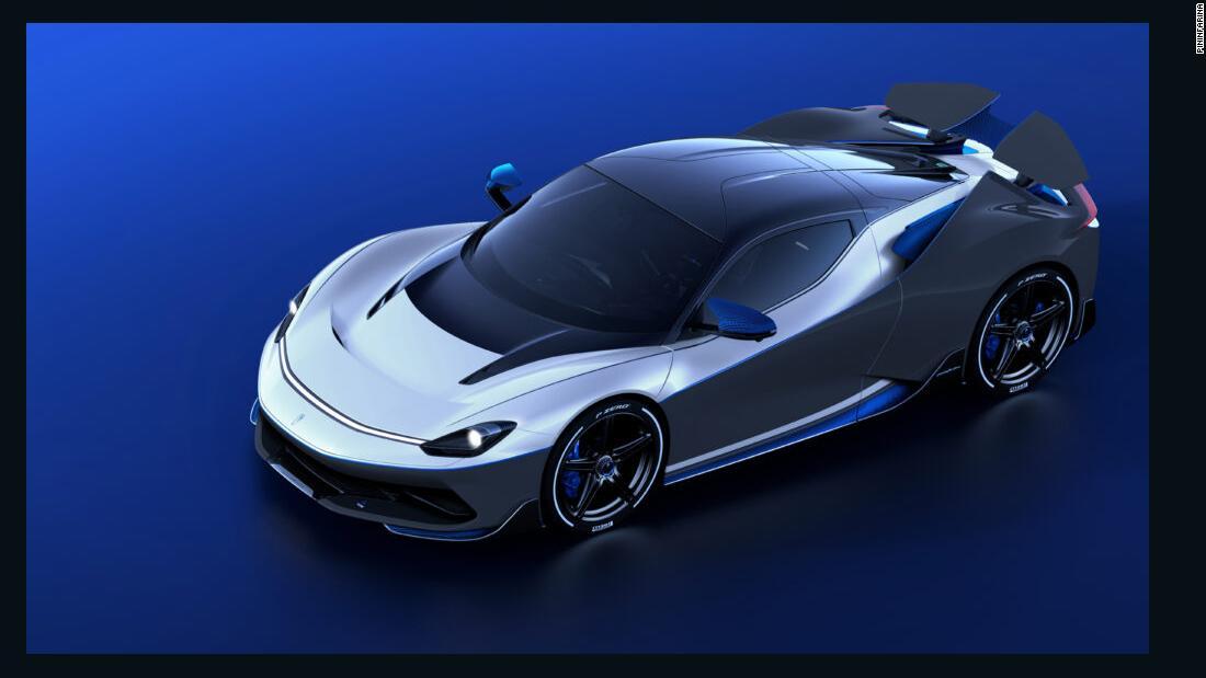 Pininfarina Battista Anniversary: una rara hypercar elettrica che costerà $ 2,9 milioni