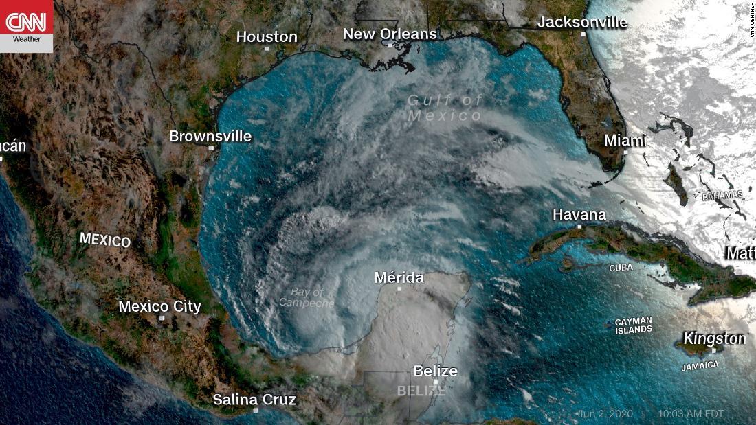 Tempesta tropicale Christopher diventa la terza tempesta atlantica più antica mai registrata