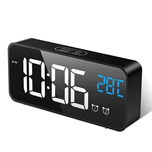30 Le migliori recensioni di sveglie digitali da comodino testate e qualificate con guida all'acquisto