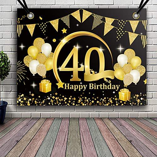 30 Le migliori recensioni di 40 Anni Di Compleanno Uomo testate e qualificate con guida all'acquisto