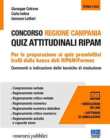 30 Le migliori recensioni di Concorso Regione Campania Quiz Attitudinali Ripam testate e qualificate con guida all'acquisto
