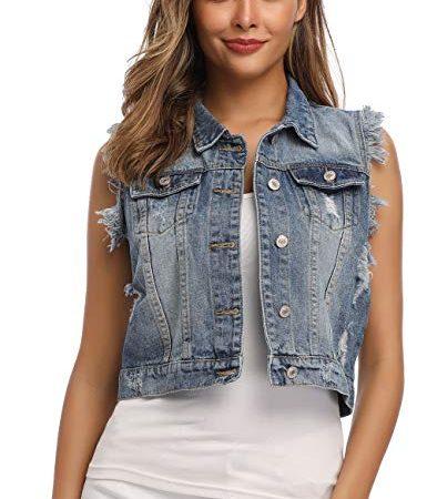 30 Le migliori recensioni di Gilet Jeans Donna testate e qualificate con guida all'acquisto