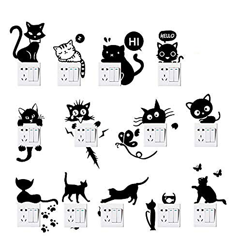 30 Le migliori recensioni di Adesivi Murali Gatti testate e qualificate con guida all'acquisto