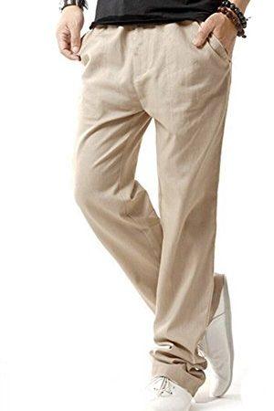 30 Le migliori recensioni di Pantaloni Lino Uomo Estivi testate e qualificate con guida all'acquisto