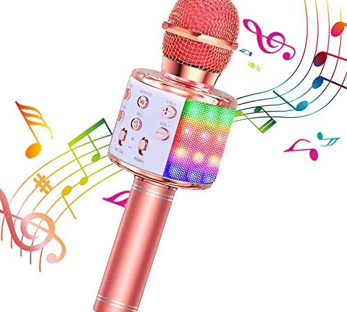 30 Le migliori recensioni di Microfono Karaoke Bluetooth testate e qualificate con guida all'acquisto